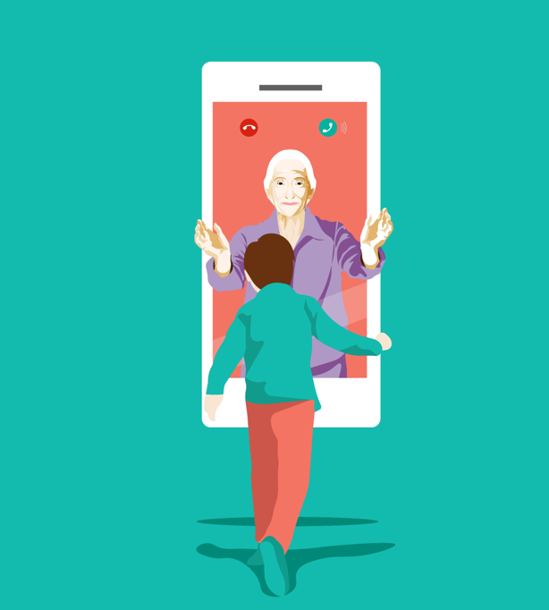 Games to play with your grandchildren on video call.