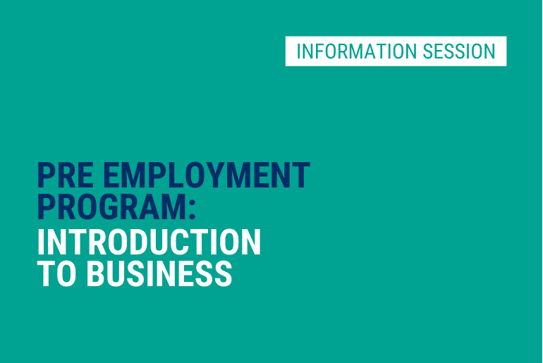 Intro to Business - Info Session
