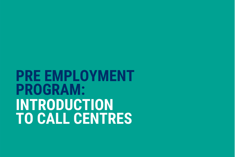 Intro to Call Centre Work