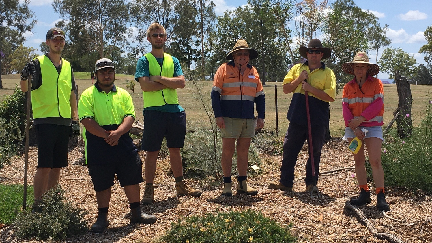 Work for the Dole activity recognised with multiple garden awards