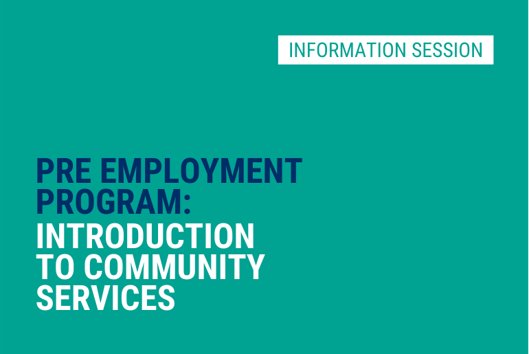 Intro to Community Services - Info Session