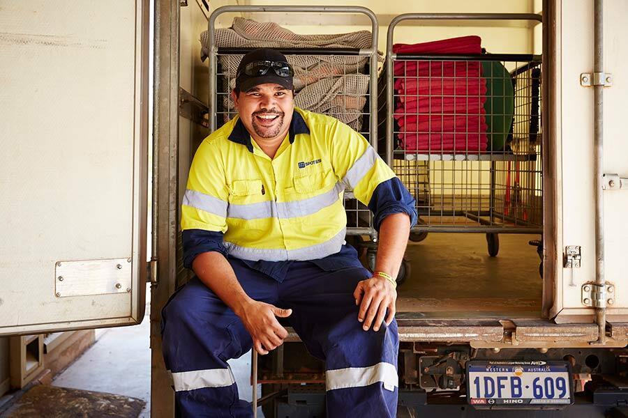 Indigenous job seeker's Spotless success